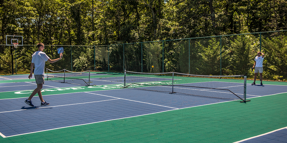 Pickle Ball Courts and Tennis Courts