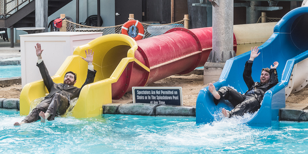 Slides and Waves await at the Cape Codder Water Park