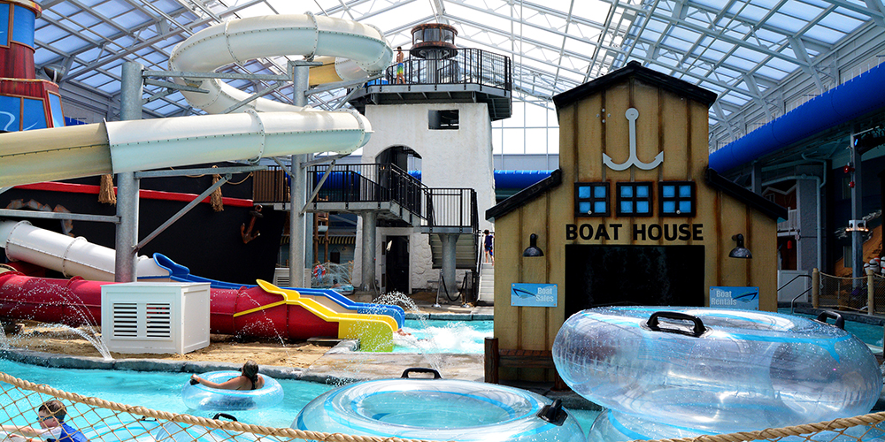 Lazy River at the Cape Codder Water Park