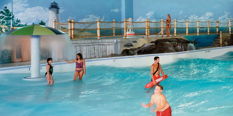 Wave Pool Fun at the Cape Codder Water Park