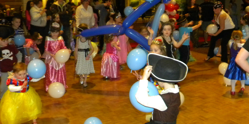 Pirate and Princess Ball in the Ballroom