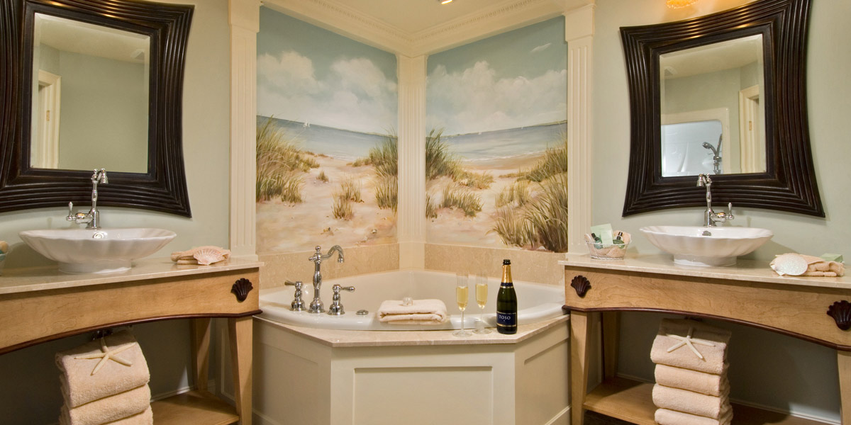 Luxurious Bathroom at the Cape Codder Residence Club