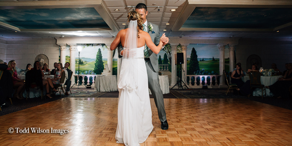 A first dance at the Cape Codder Resort and Spa